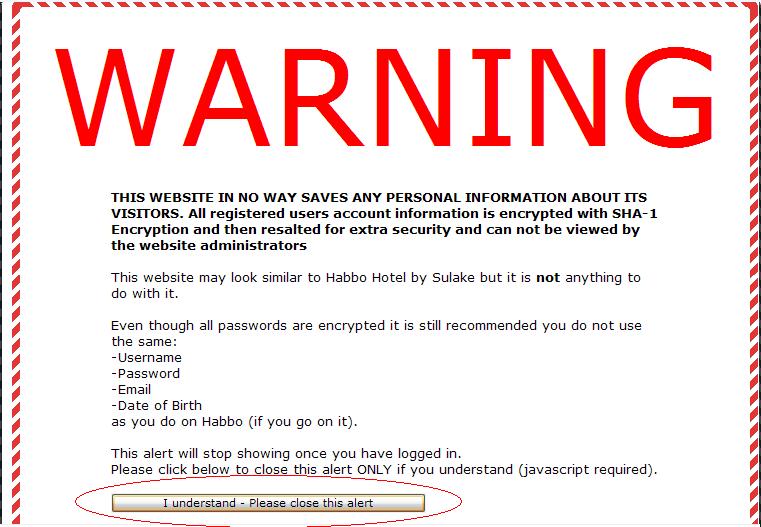 Mettre une alerte sur votre page d'accueil [TUTO] 110