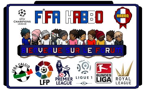 Le site officiel de la FIFA Habbo, petit terrain.
