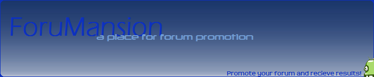ForuMansion.com (HUGE ADVERTISING FORUM); 114,000+ posts, 1,300 members - Page 2 Foruma15