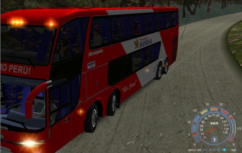 Presento mis buses del Perú que realize: Horna10