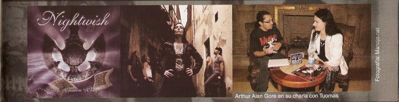 Entrevista a Tuomas Holopainen para Gótica [Revista N° 26] Escane12