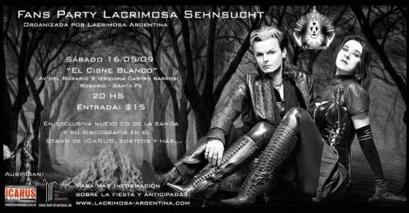 Sehnsucht Fan Party [16/05/2009] El Cisne Blanco [Rosario] Sehnsu10