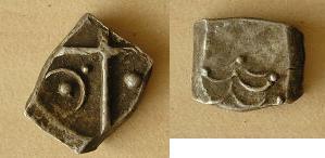"""Drachme """"à la tête triangulaire"""" - IIe-Ier s (Cadurques) [WM n° 8244] C310"""