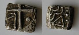 Drachmes au triskèle et à tête triangulaire [WM n° 7633 à 7637] Carduq13