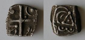 Drachmes au triskèle et à tête triangulaire [WM n° 7633 à 7637] Carduq14