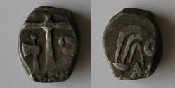 Drachmes au triskèle et à tête triangulaire [WM n° 7633 à 7637] Carduq15