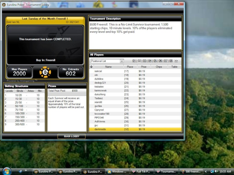 500$ survivor freeroll on eurolinxs 500_fr12