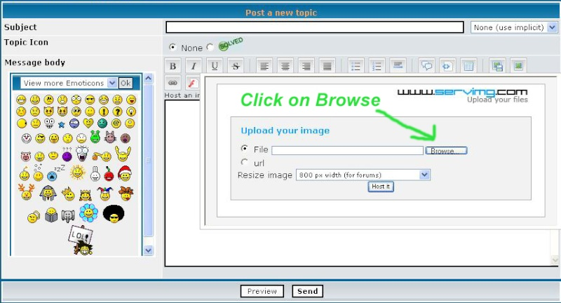 How to attache an Picture 212