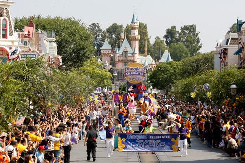 Kobe Celebrates Championship at Disneyland Kobe-b11