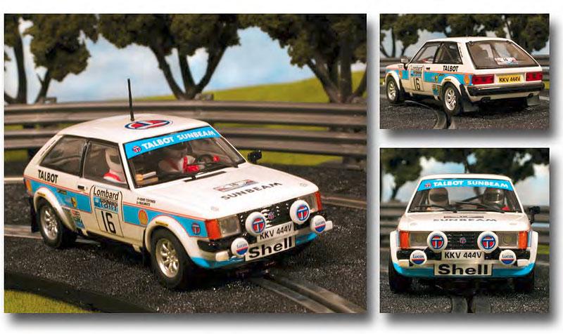 SCX aime les voitures de Rallye... moi aussi! Scx63811