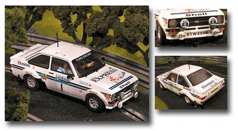 SCX aime les voitures de Rallye... moi aussi! Scx64310