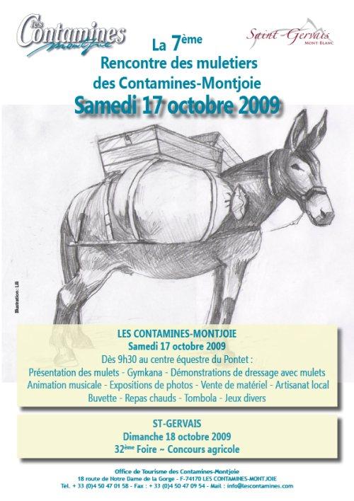 7ème rencontre des muletiers 74170 Les Contamines-Montjoie Muleti10