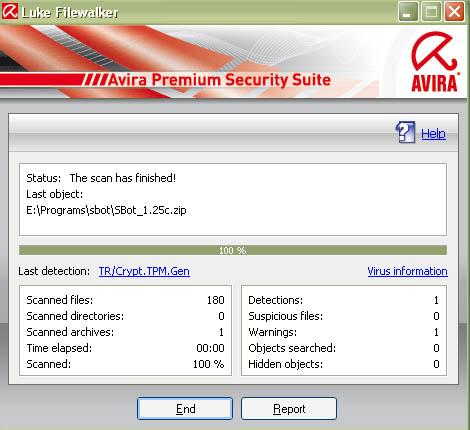 Trojan in version 1.25c Oo Untitl10