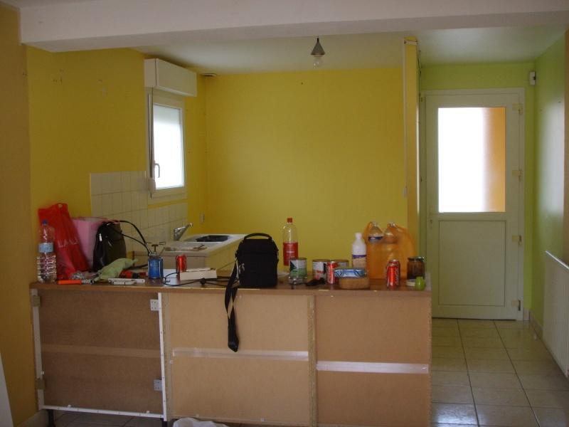 entree,cuisine,salle à manger et salon dans la meme piece besoin d'idée pour la peinture des murs Ssm15610