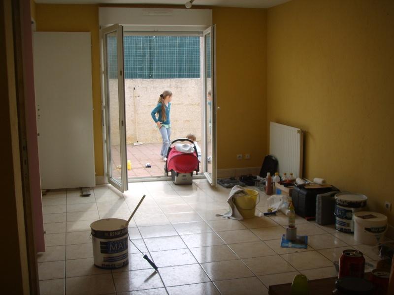 entree,cuisine,salle à manger et salon dans la meme piece besoin d'idée pour la peinture des murs Ssm15611