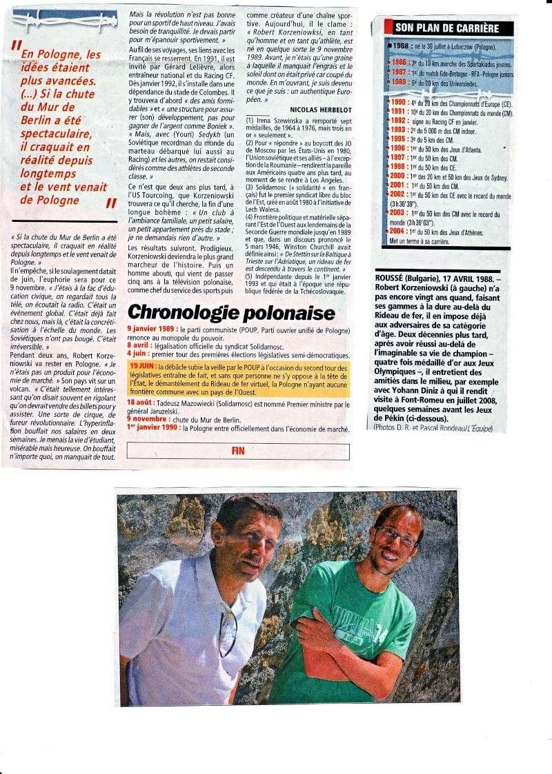 KORZENIOWSKI Robert  le journal l'équipe Robert12