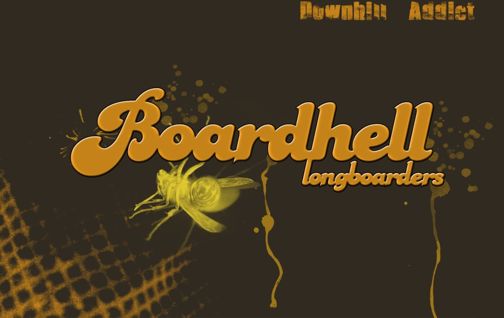 Fonds d'écran BOARDHELL LONGBOARDERS Downhi11