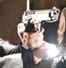 Lampe pour M9 Pistol10