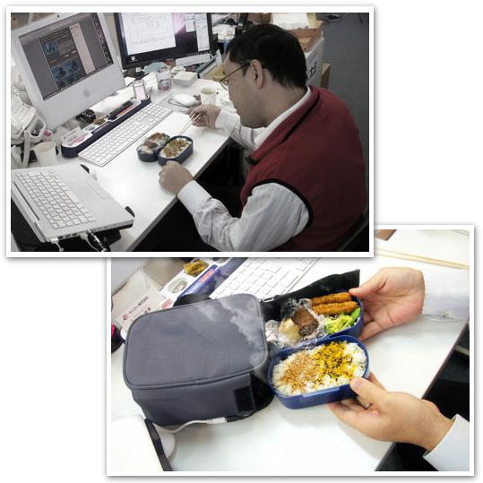 Utensilio para os NERD´s de plantão que nao pode perder tempo com a hora de almoço...kkk Marmit11