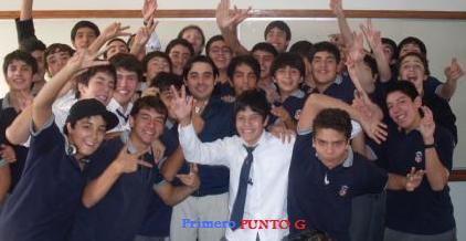 Primero G Instituto Nacional 2009