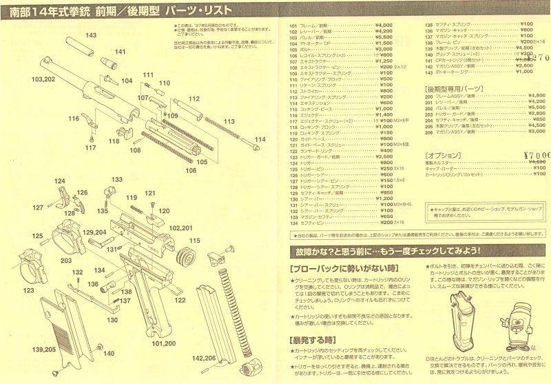 Hudson Nambu 14 Instruction Manual (Japan) 410
