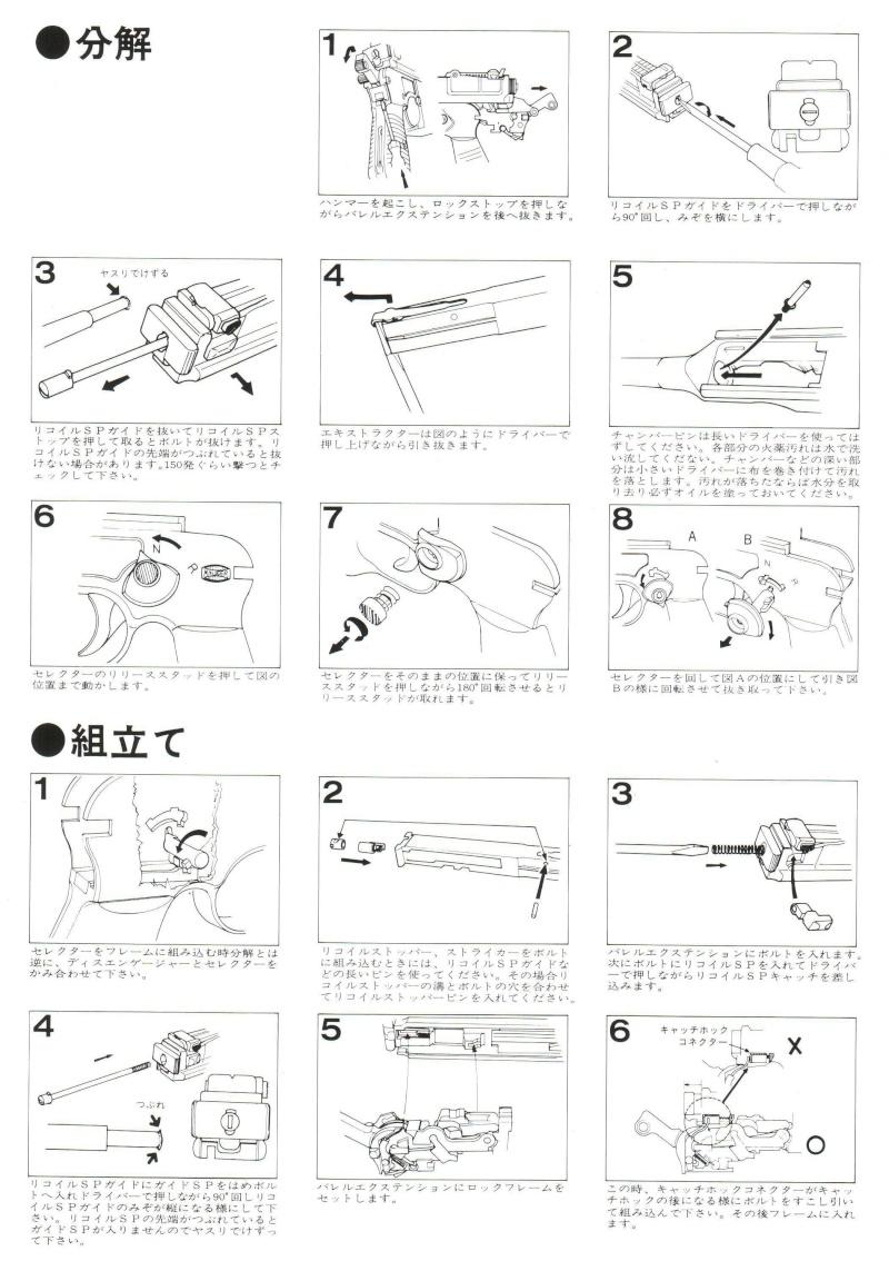 Marushin Mauser Schnellfeuer M712 Instruction Manual (Japan) 417