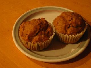 Muffins à la citrouille et à la mélasse Muffin11