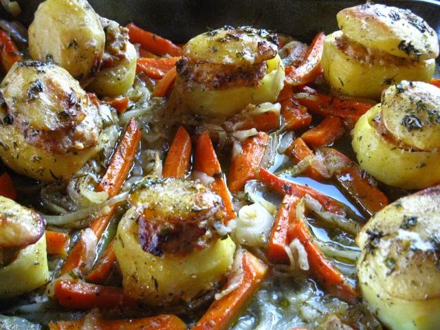 Pommes de terre farcies (patate ripiene) Pommes10