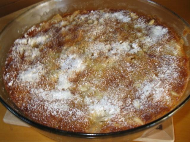 Gâteau aux pommes et aux noix de pin Torte_21