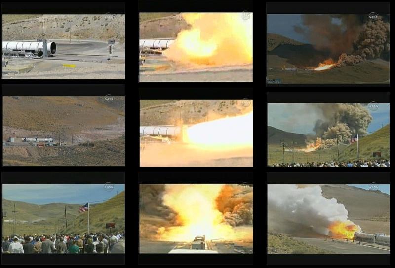 Suivi de l'essai DM-1 (SRB 5 segments) (jeudi 10 septembre 2009) - Page 3 Areste10