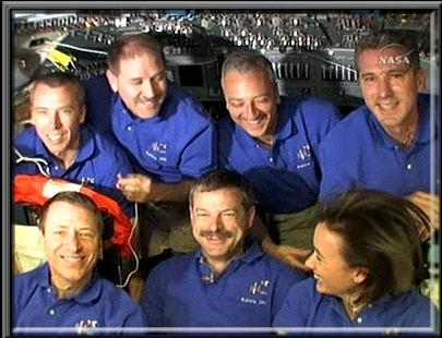 Vos captures NASA-TV Call410