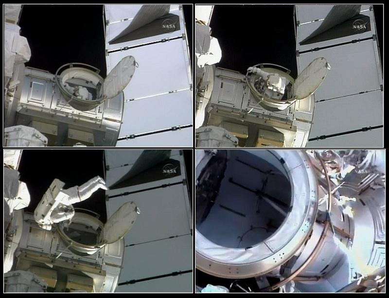 [STS-128] suivi EVA#1 (Stott & Olivas) Eva110