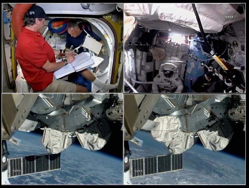 [STS-128] suivi de l'EVA#3 (Olivas et Fuglesang) Eva310