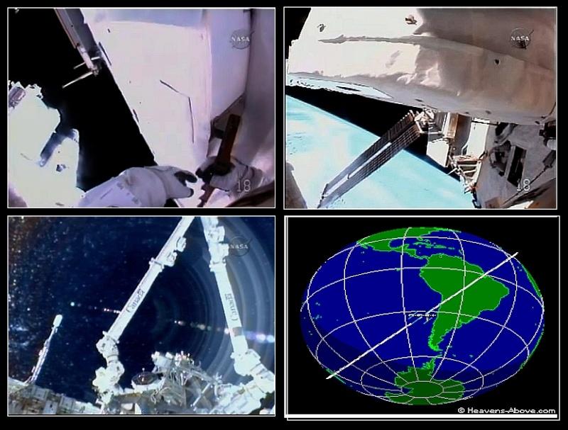 [STS-127: Endeavour] EVA 2 (Wolf & Mashburn) Evae10