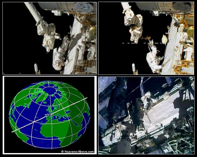 [STS-127: Endeavour] EVA 2 (Wolf & Mashburn) Evag10