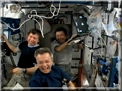 Vos captures NASA-TV Iss411