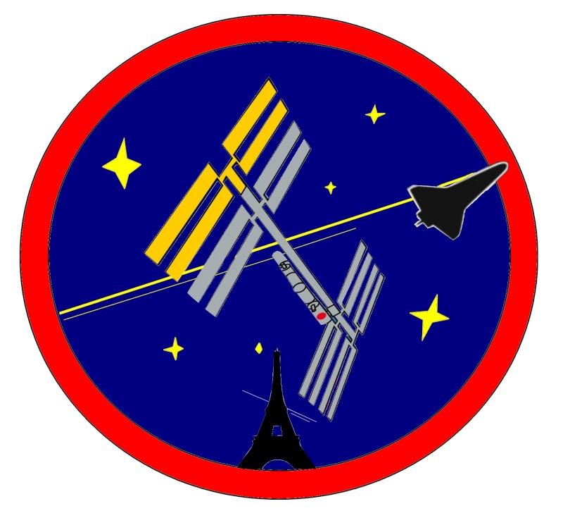 """Mon patch perso pour les """"observateurs Franciliens de l'ISS"""" Patchp10"""