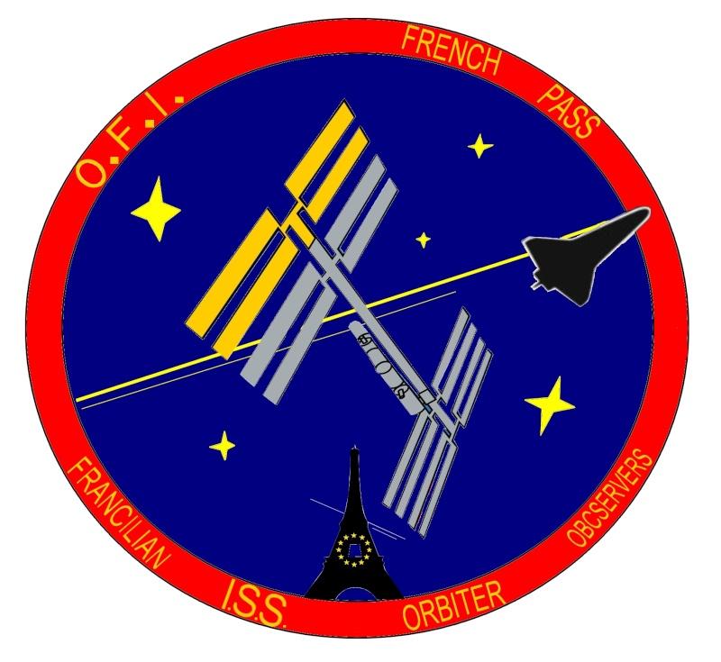 """Mon patch perso pour les """"observateurs Franciliens de l'ISS"""" Patchp11"""