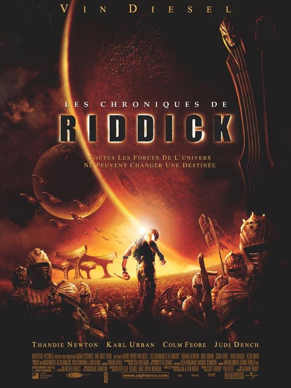 Le film Les chronique de riddik Riddic13