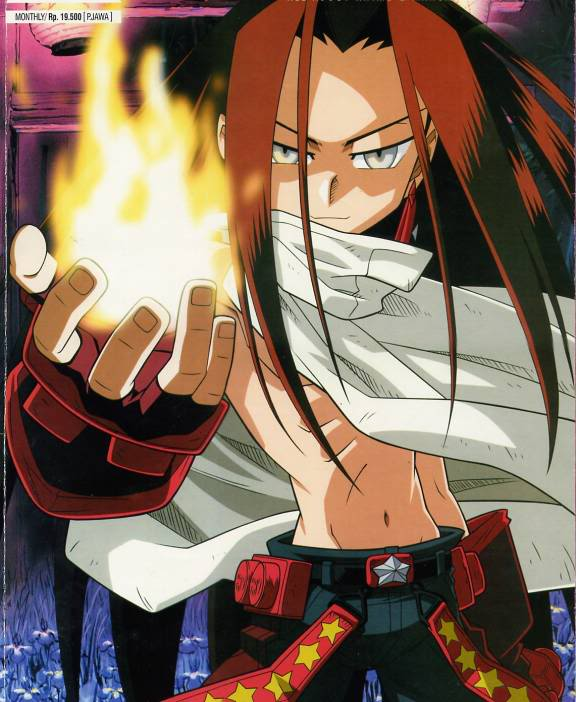 Adding Main (Evil) Character from Shaman King Asakur10