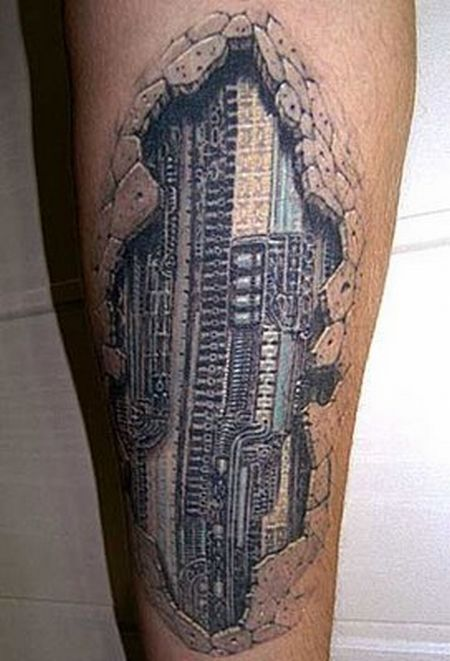 latest lifely 3D tattoo! 3d-tat11