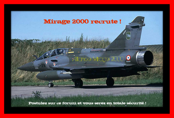 Forum des alliances Mirage 2000