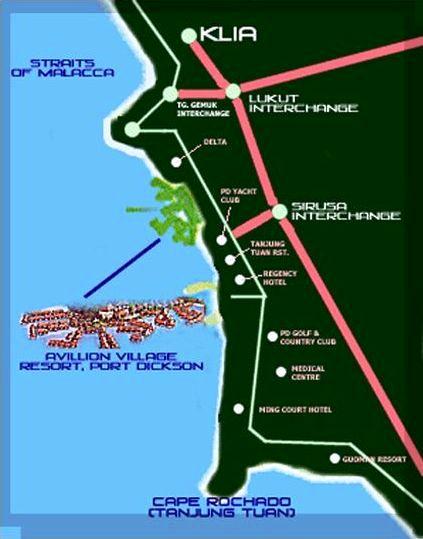 DIBATALKAN !!! : Ride & Makan Tengahari di Port Dickson - 11/10/2009 Pd_map10