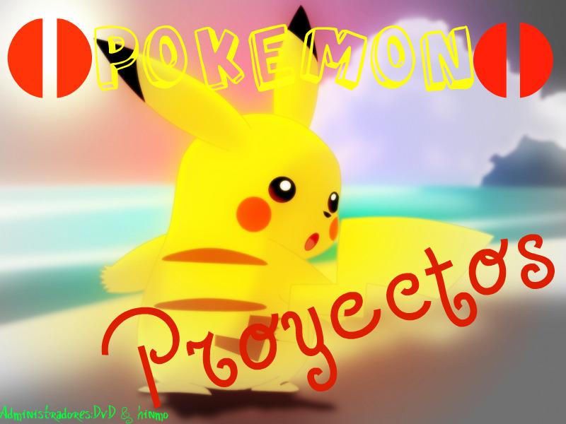 Pokémon proyectos Rpgmaker