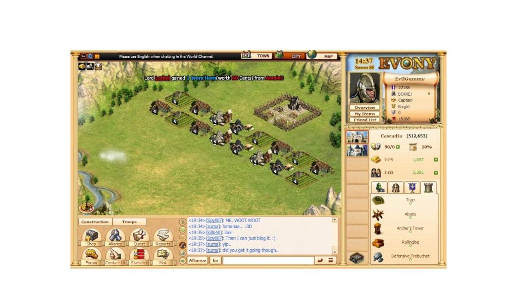 Evony Screenshots Second12