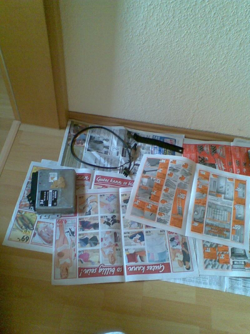 Bauarbeiten am Ascona *** Update 2011 - Käfig , Leder..*** Bild0219