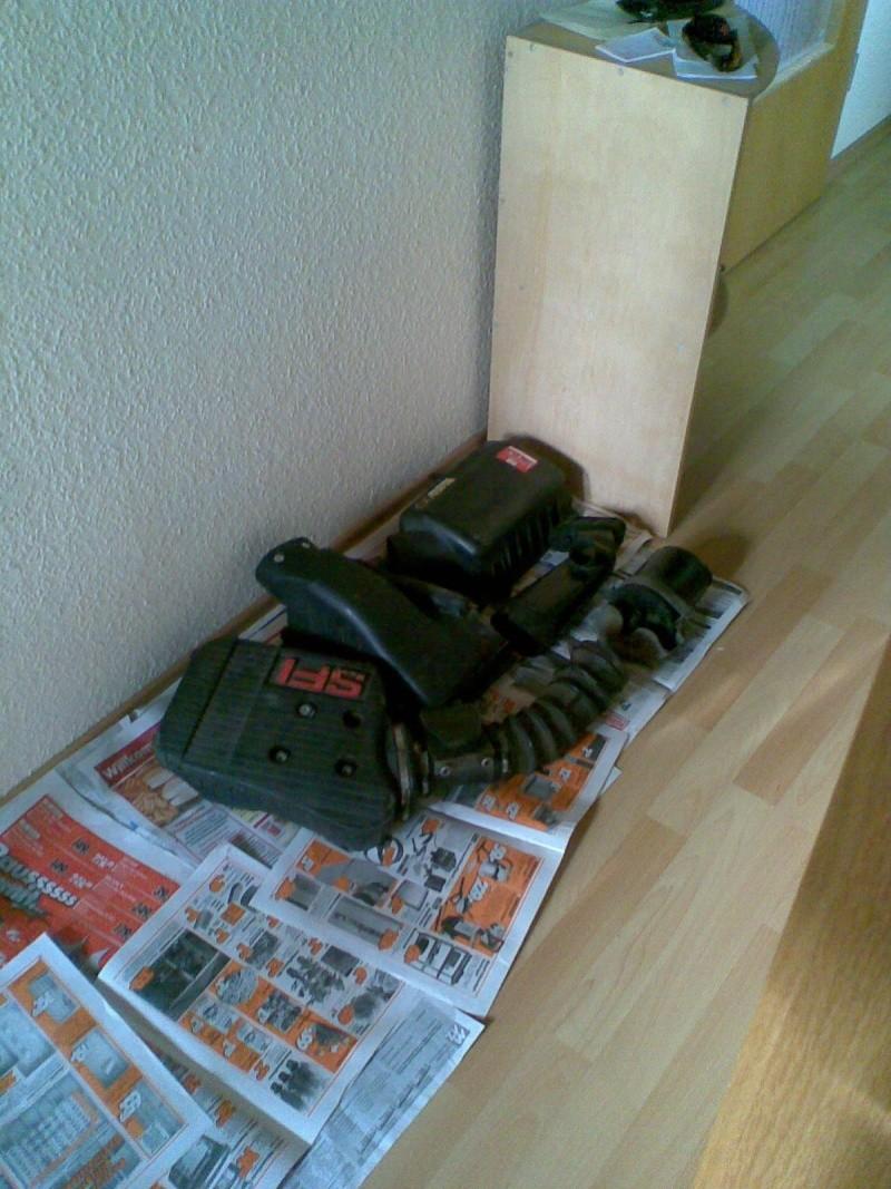 Bauarbeiten am Ascona *** Update 2011 - Käfig , Leder..*** Bild0220