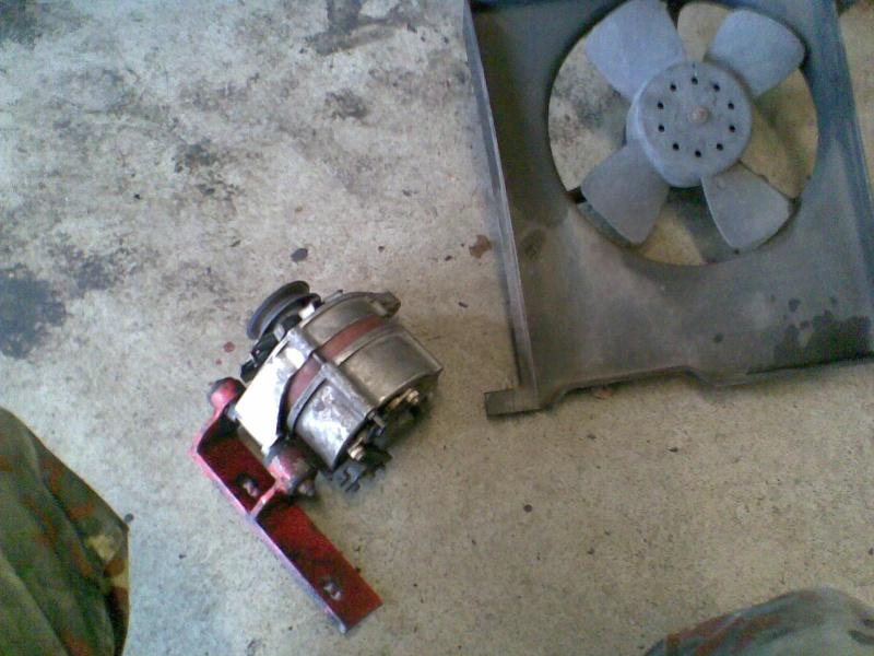 Bauarbeiten am Ascona *** Update 2011 - Käfig , Leder..*** Bild0910