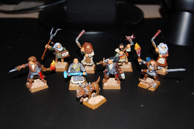 Reiklanders, Witch Hunters, Orcs, Dwarf Noble, Undead Thrall Dsc_0113