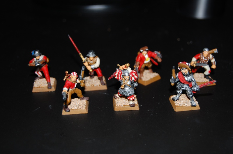 Reiklanders, Witch Hunters, Orcs, Dwarf Noble, Undead Thrall Dsc_0114